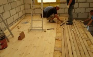 Укладання дошки підлоги